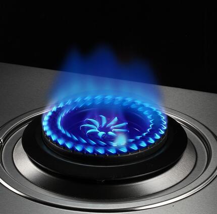煤灶火焰红蓝素材